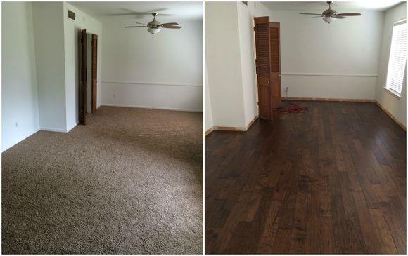 New House, New Wood Floors