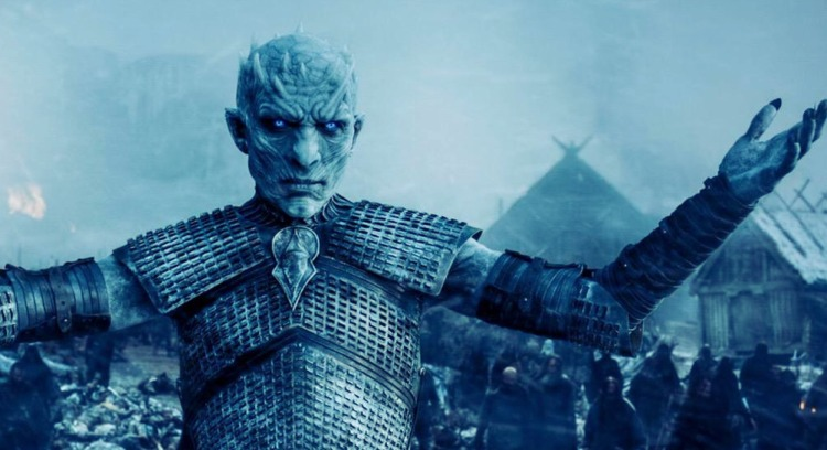 White Walker says Bring it Bro on Game of Thrones