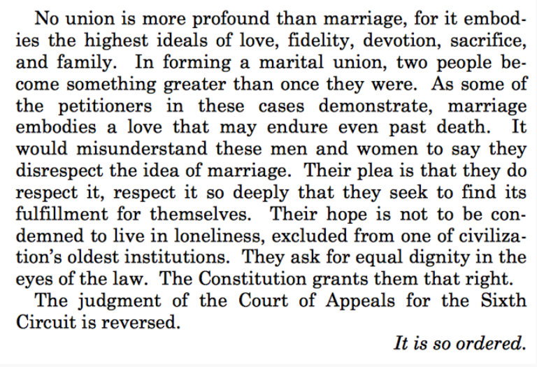 SCOTUS Marriage Equality