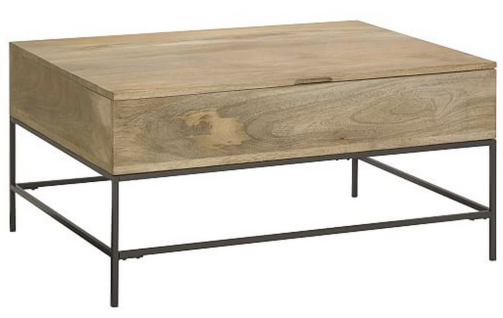 West Elm Coffee Table with Storage