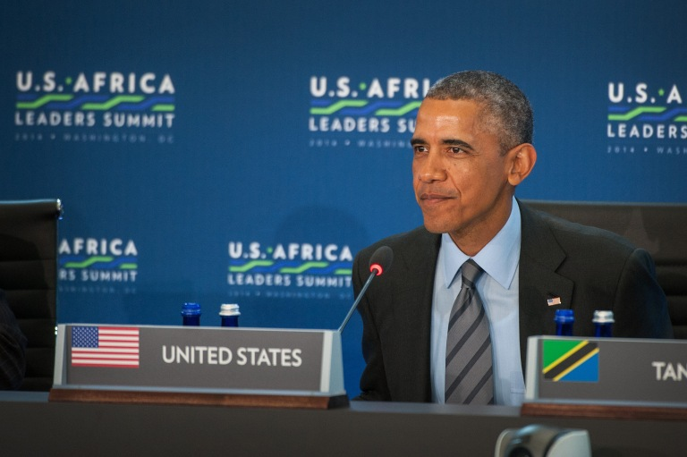 President Obama Delivers Remarks at the U.S.-Africa Leaders Summit Session Three on Governing the Next Generation