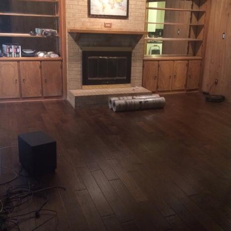 Living Room demo prep