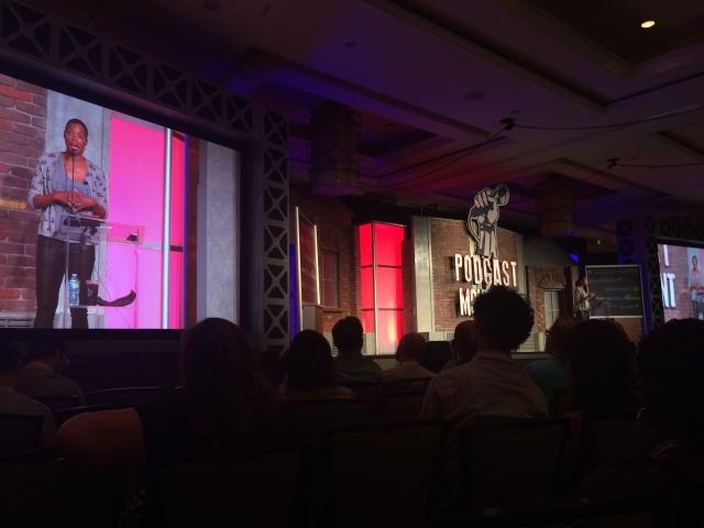 Aisha Tyler at Podcast Movement 2015