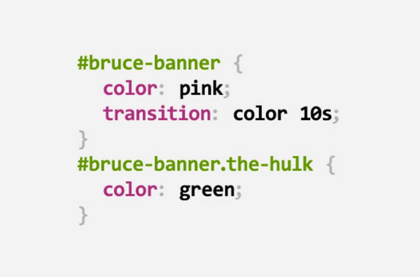 The Hulk CSS Pun