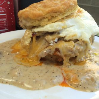 Pine State Biscuits biscuit sandwich in Portland