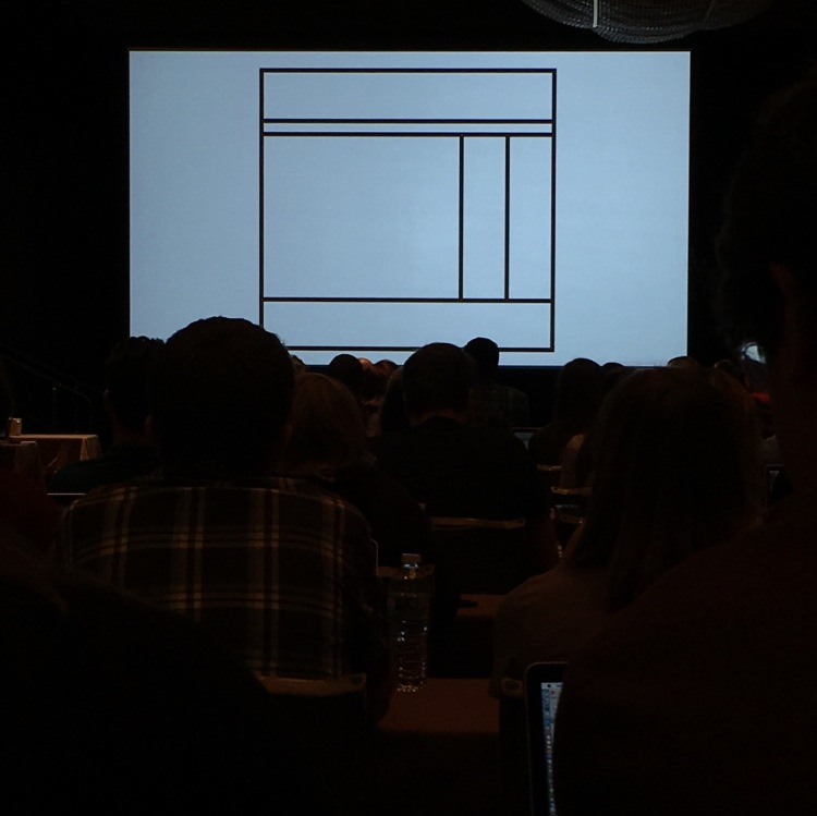 Slide from Jen Simmons' Modern Layouts: Getting Out of Our Ruts at An Event Apart Austin