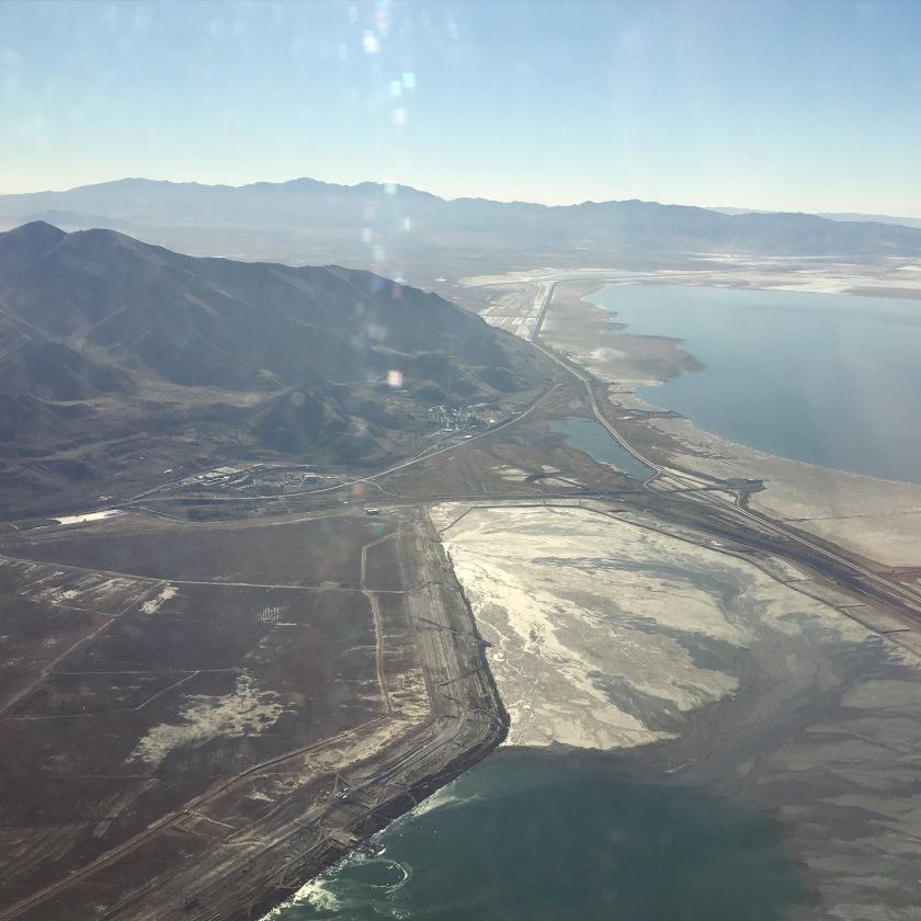Flight into Utah