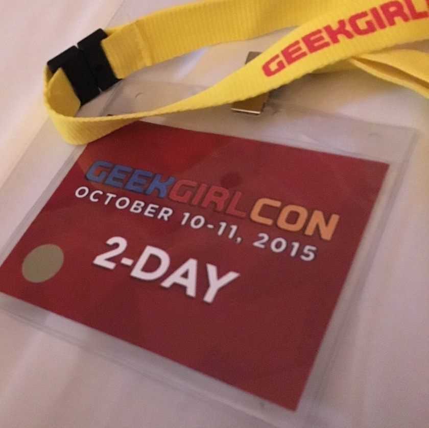 Geek Girl Con 2015 Badge