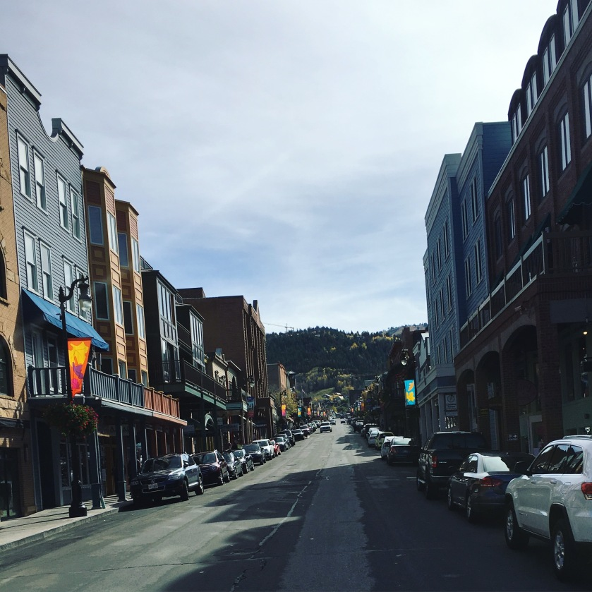 Park City Utah in October 2015