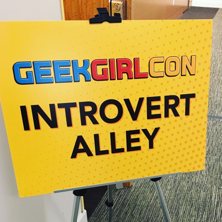 Geek Girl Con's Introvert Alley