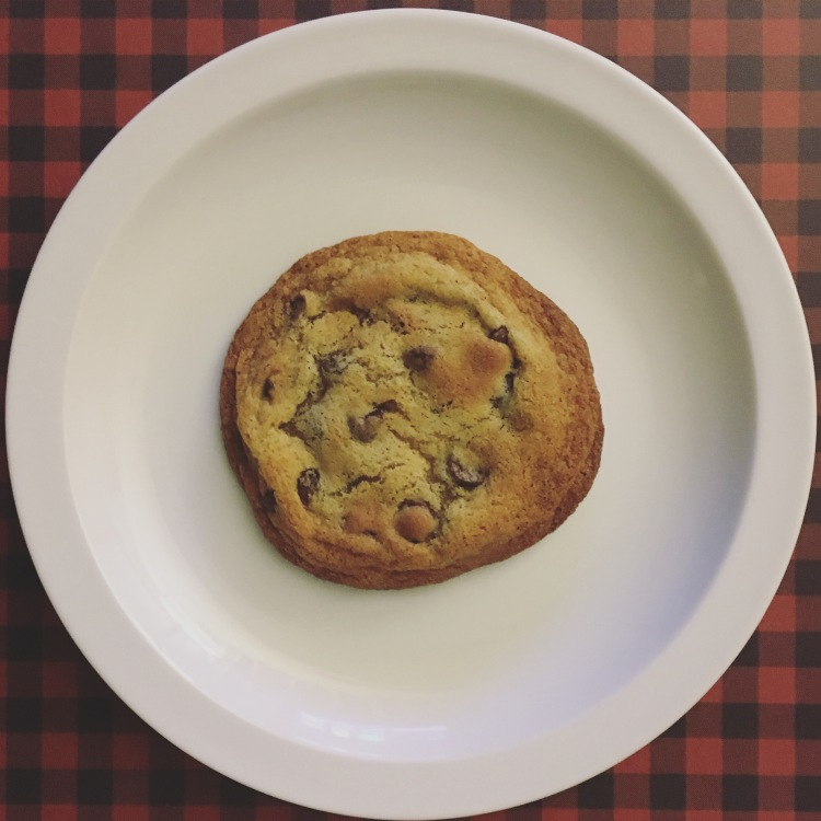 Single-Serving Chocolate Chip Cookie