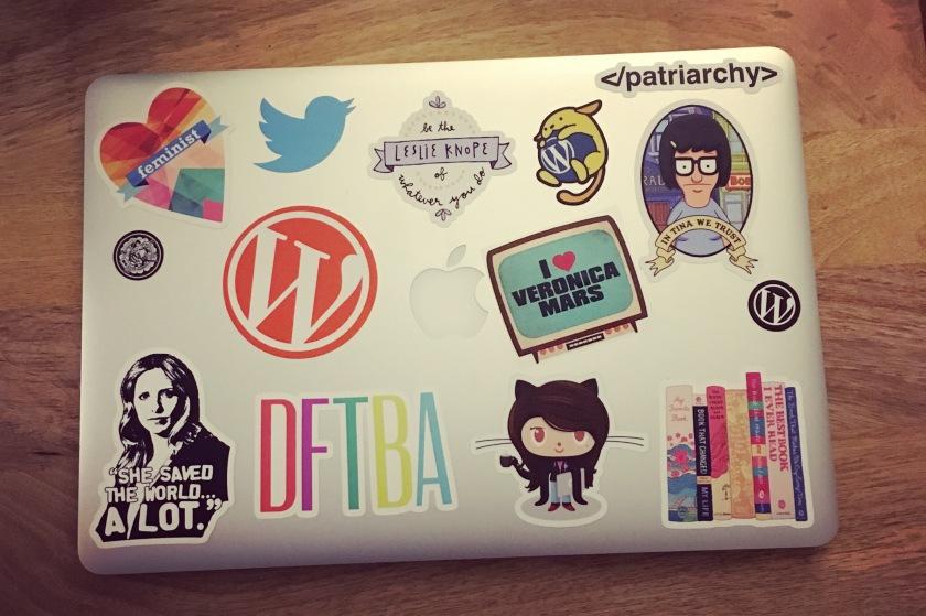 Stickers on my MacBook Pro
