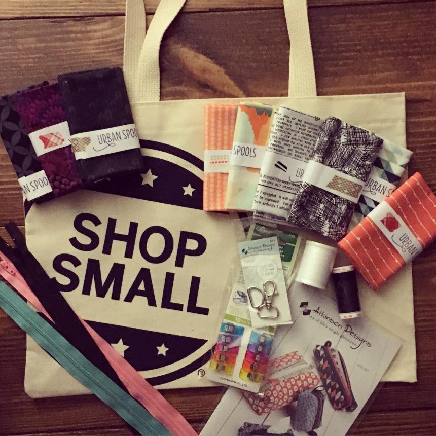 Small Business Saturday Haul from Urban Spools in Dallas