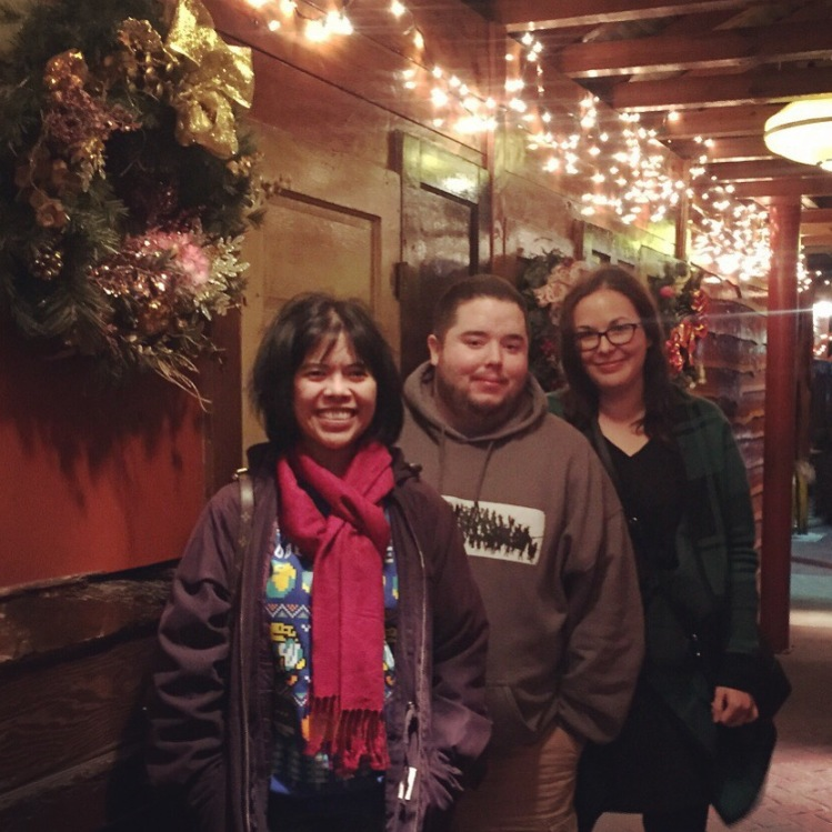 Dallasmatticians at Christmas Dinner in Carrollton