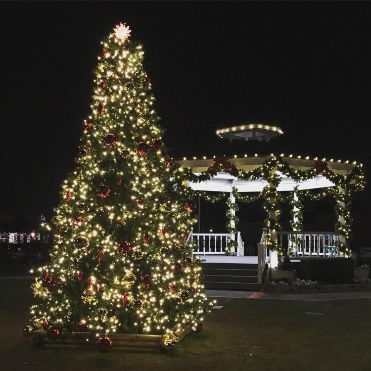 In downtown Carrollton for the Dallasmattician Christmas Dinner