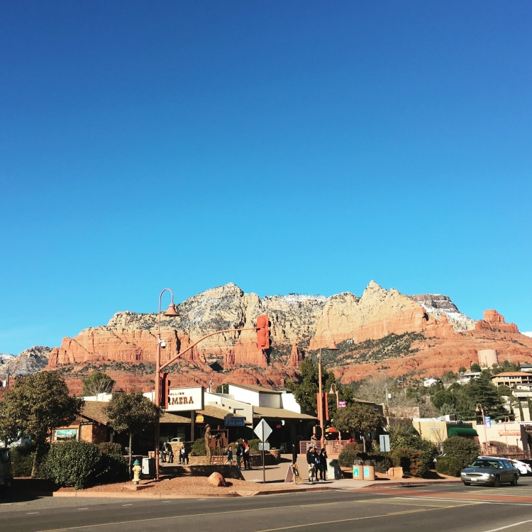 Sedona Arizona in the afternoon