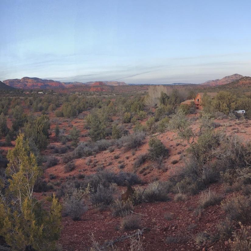 Red Rock State Park area near Sedona Arizona