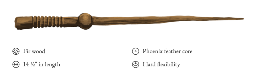 My Wand on Pottermore