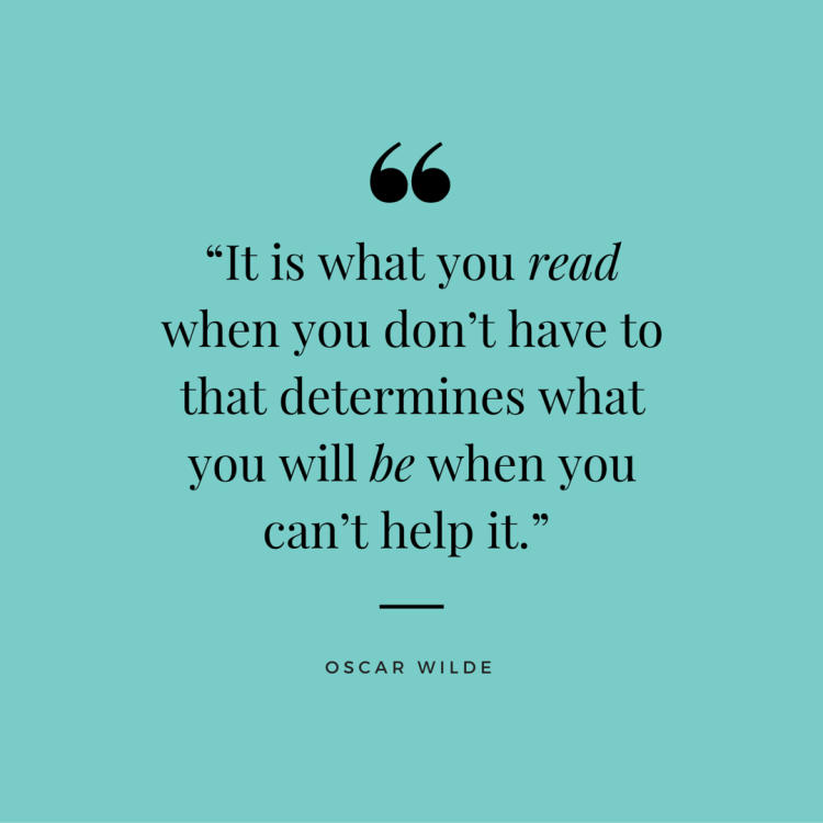 Read/Be Oscar Wilde Quote