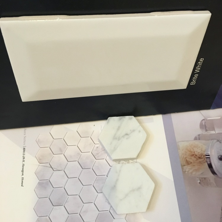 picking out bathroom tile