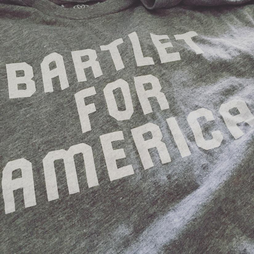 Barlet for America tshirt