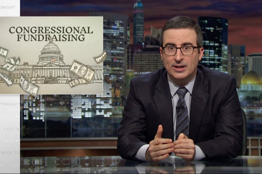 Last Week Tonight on Congressional Fundraising