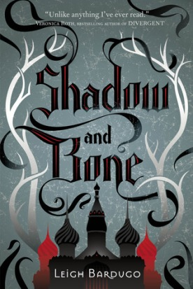 book cover of shadow and bone