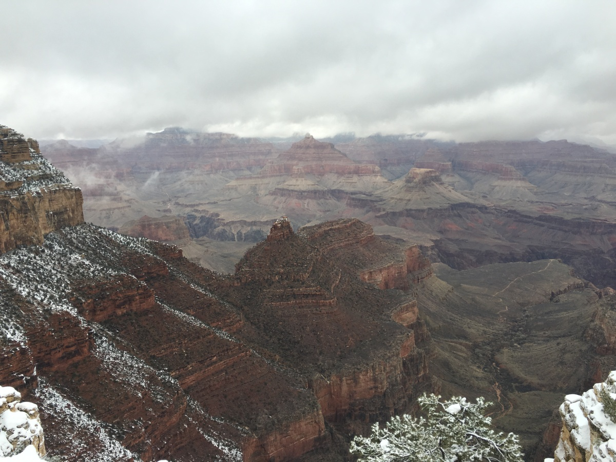 Grand Canyon in January 2016