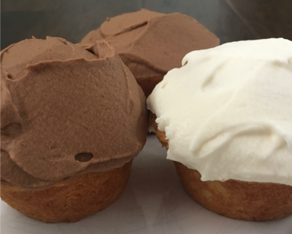 Small Batch Cupcakes (made in the toaster oven!) by sarah.blog
