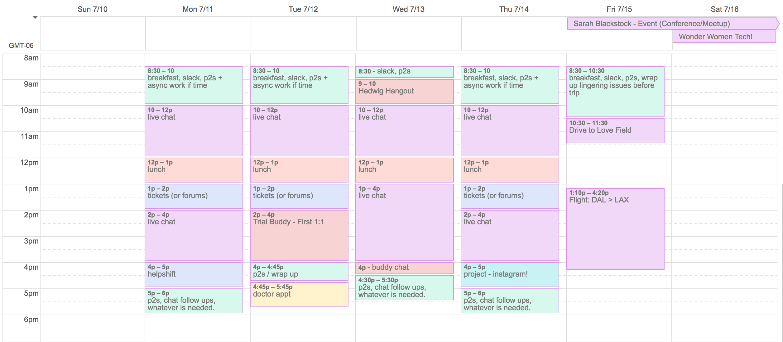 How to Schedule Your Tasks with Calendar Blocks
