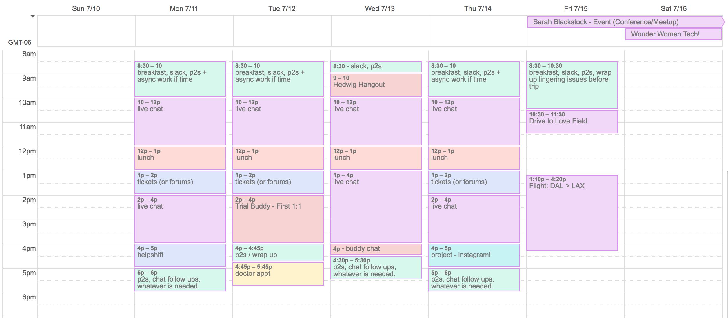 how to schedule