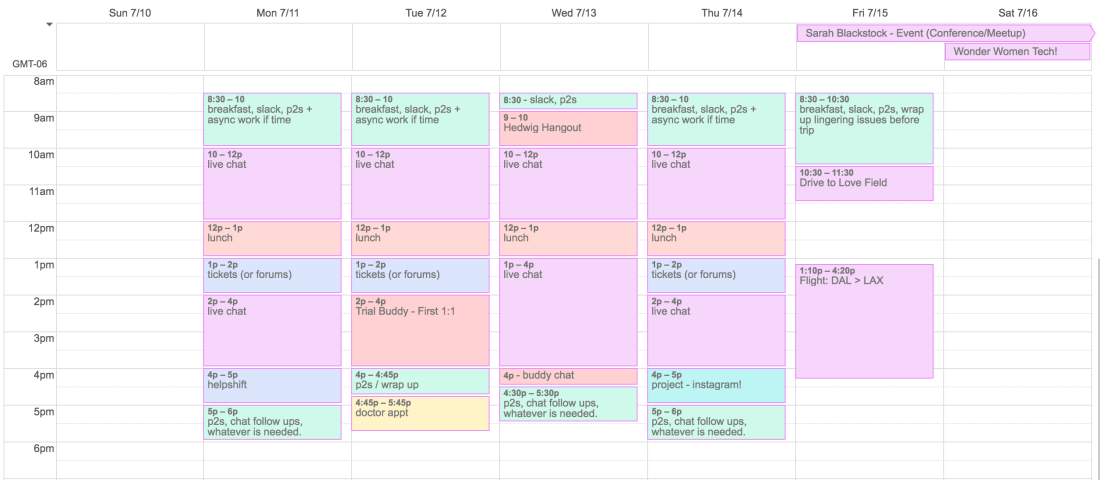 How to Schedule Your Tasks with Calendar Blocks by sarah.blog